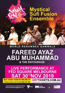 Salam Fest 2019 - Qawali Night In Melbourne