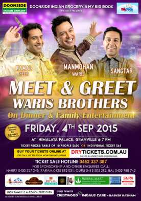Meet & Greet with Waris Brothers