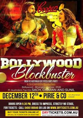 Bollywood Blockbuster Fan's Party