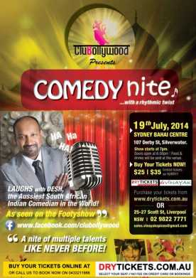 Comedy Nite with a Rhythmic Twist