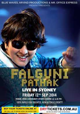 Falguni Pathak Live in Sydney - Dandiya Bash