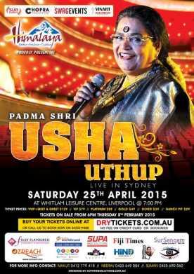 Usha Uthup Live In Sydney