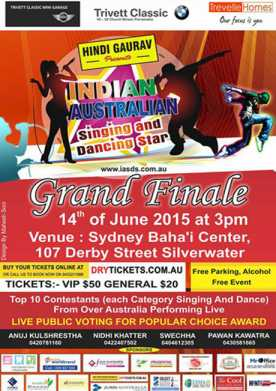 Indian Australian Singing and Dancing