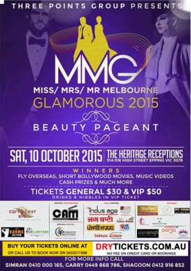 Miss Mrs Mr Melbourne Glamorous 2015