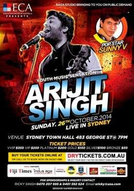 Arijit Singh Live In Sydney