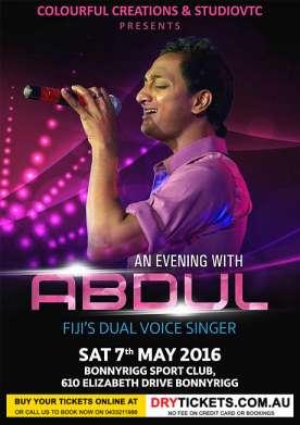 Abdul Live in Sydney Concert