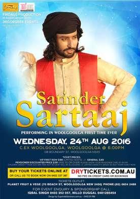 Satinder Sartaaj Live In Woolgoolga 2016