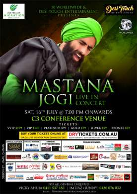 Mastana Jogi - Kanwar Grewal Live In Sydney 2016