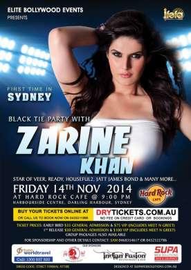 Black Tie Party with Zarine Khan