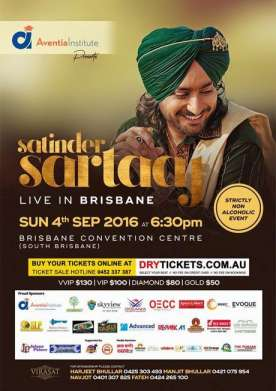 Satinder Sartaaj Live In Brisbane 2016