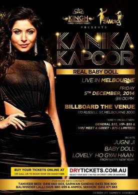 Kanika Kapoor Live in Melbourne