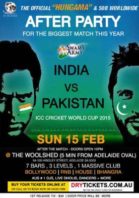 India vs Pakistan After Party 2015