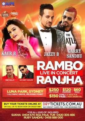 Rambo Ranjha Live In Concert