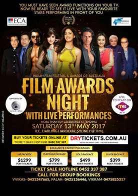 Film Awards Night with Live Performances IFFAA 2017