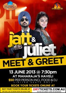 Jatt & Juliet - Meet & Greet