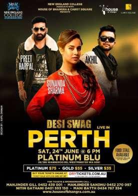 Desi Swag Live In Perth 2017