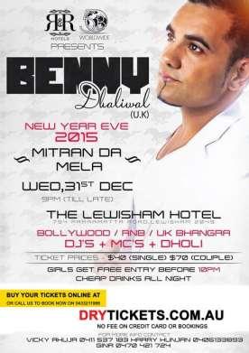 Benny Dhaliwal (U.K.) Live In Sydney