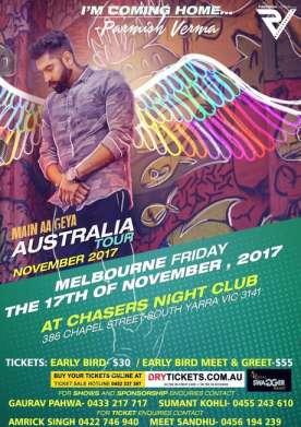 Main Aa Geya - Parmish Verma In Melbourne 2017