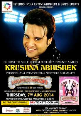 Meet & Greet with Krushna Abhishek