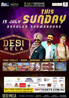 Desi Mela Live In Brisbane 2018