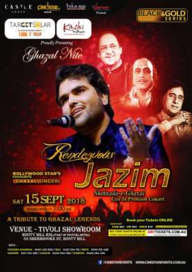 'Rendezvous with JAZIM' Ghazal Night