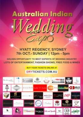 Australian Indian Wedding Expo 2018 In Sydney