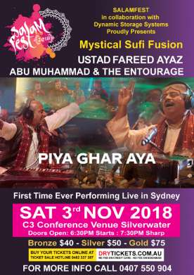 Mystical Sufi Fusion In Sydney