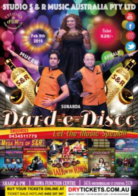 Dard-e-Disco In Sydney