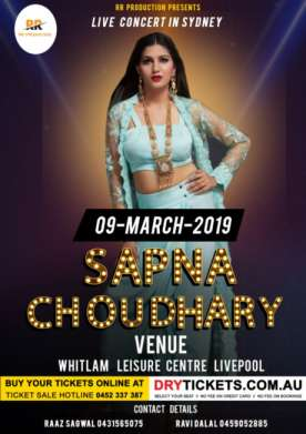 Sapna Chaudhary Live In Sydney 2019