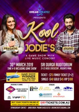 Kool Jodie's - A Game Show With Live Music Concert In Sydney
