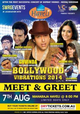 Meet & Greet Bollywood Vibrations