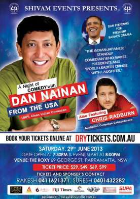 Dan Nainan Live Comedy Night