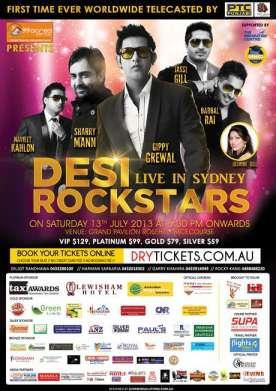 Desi Rockstars Live In Sydney