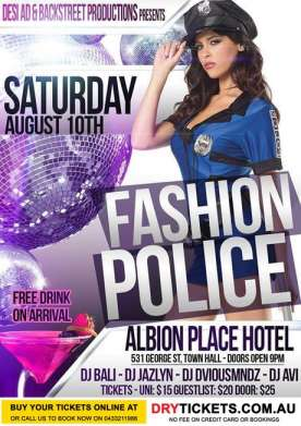 Fashion Police Bollywood Club Night