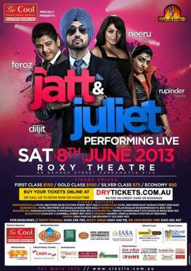 Jatt & Juliet Performing Live