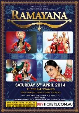 Ramayana Live In Sydney 2014