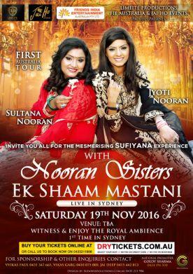 Ek Shaam Mastani with Nooran Sisters