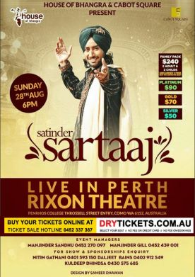 Satinder Sartaaj Live In Perth 2016