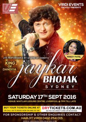 Jaykar Bhojak Dandiya Dhoom Sydney