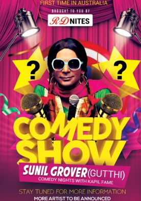 Comedy Show Sunil Grover Live in Sydney
