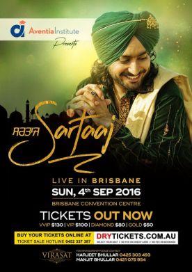 Satinder Sartaaj Live In Brisbane 2016
