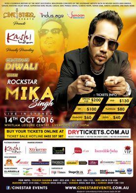 Mika Singh Live In Sydney 2016