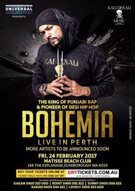 The Legend Bohemia Live In Perth 2017