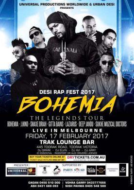 The Legend Bohemia Live In Melbourne 2017