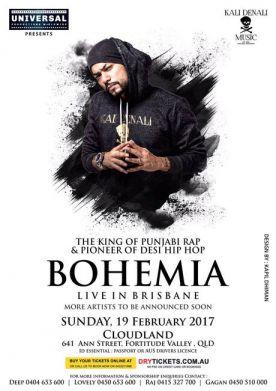 The Legend Bohemia Live In Brisbane 2017