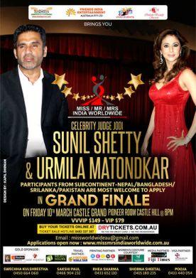 Miss/Mr/Mrs India Worldwide 2017 GRAND FINALE In Sydney