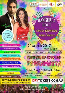 Holi Mela 2017 - Festival Of Colours Parramatta