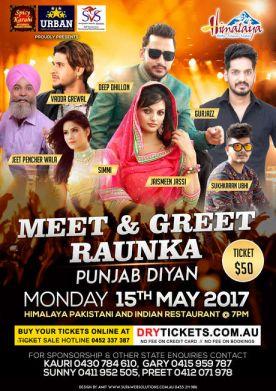 Meet & Greet Raunka Punjab Diyan In Sydney