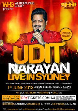 Udit Narayan Live In Sydney