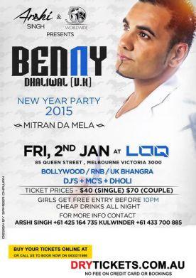 Benny Dhaliwal (U.K.) Live In Melbourne